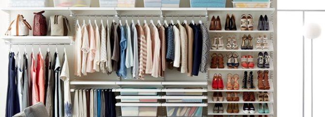 ۷ ایده عالی برای مرتب کردن کمد لباس