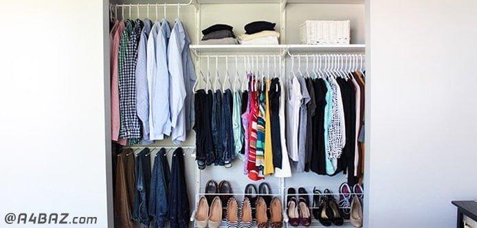 مرتب سازی کمد لباس