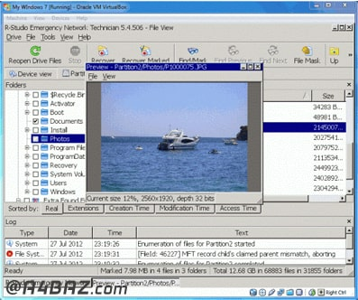 ریکاوری ماشین مجازی سرور