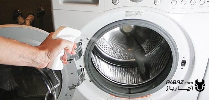 از بین بردن لجن ماشین لباسشویی