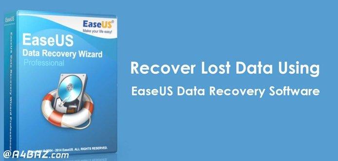 قابلیت برنامه EaseUS Data Recovery