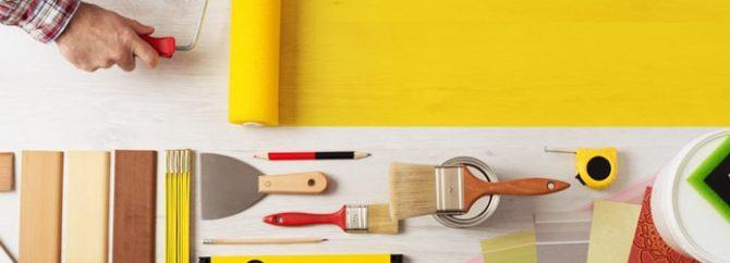 رنگ آمیزی ساختمان با غلطک بهتر است یا قلمو؟