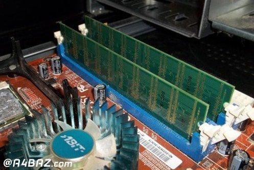 رفع مشکلات ram کامپیوتر