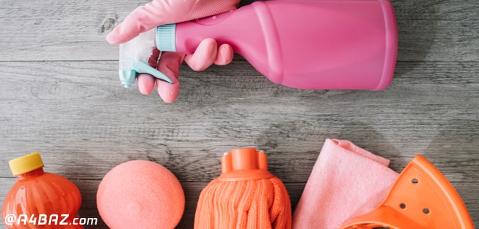 وسایل تمیز کاری آشپزخانه