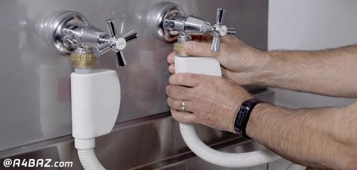 طریقه نصب ماشین ظرفشویی