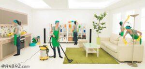 نظافت منزل غرب تهران