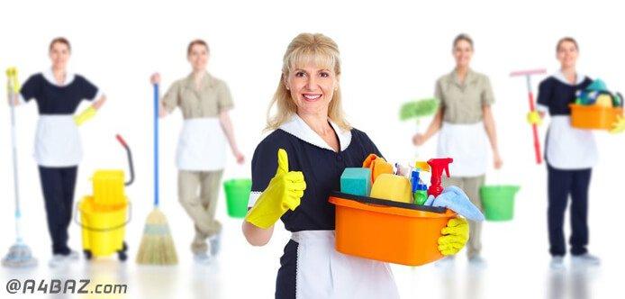 نظافتچی خانم برای نظافت منزل شمال تهران