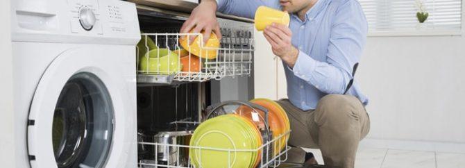 چگونه بوی بد ماشین ظرفشویی را از بین ببریم