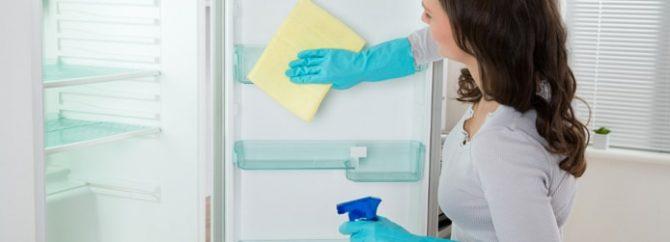 راهنمای شستن و تمیز کردن یخچال فریزر و ساید بای ساید
