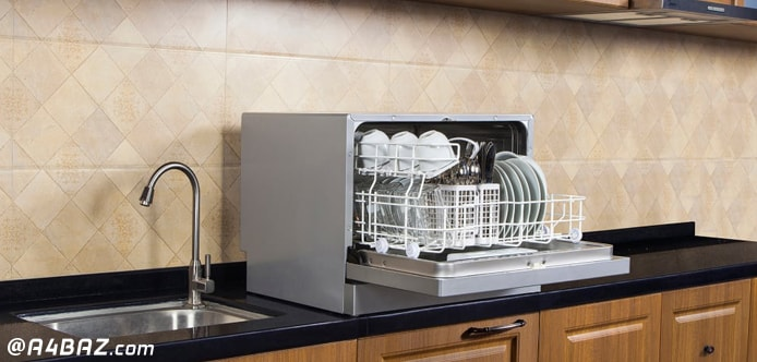 ماشین ظرفشویی روی کابینت