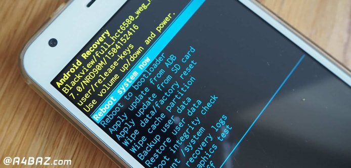 حل مشکل سیاه و سفید شدن صفحه گوشی سامسونگ در اثر ضربه