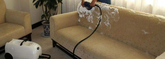 راهنمای استفاده از بخارشوی برای شستن مبل