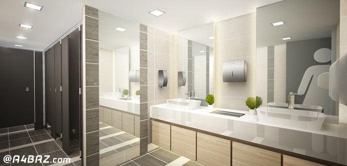 نظافت سرویس بهداشتی محیط کار