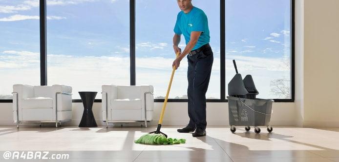 خدمات نظافت ادارات