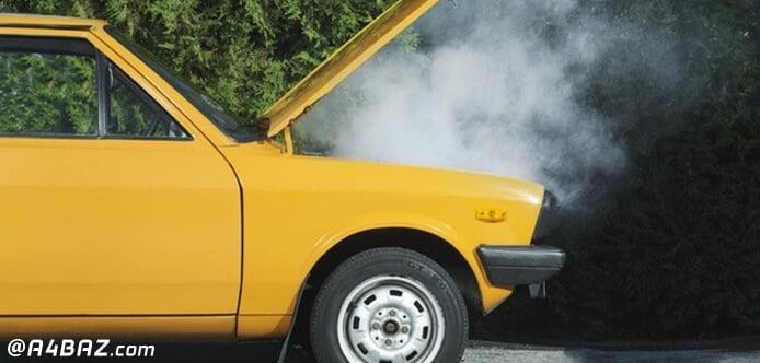 علت روشن شدن چراغ روغن خودرو پیکان