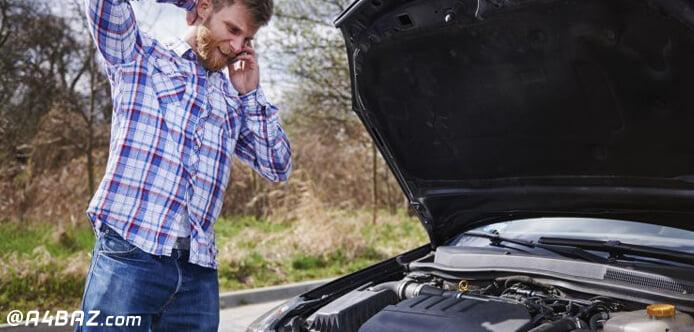 علت روشن شدن چراغ روغن خودرو پراید