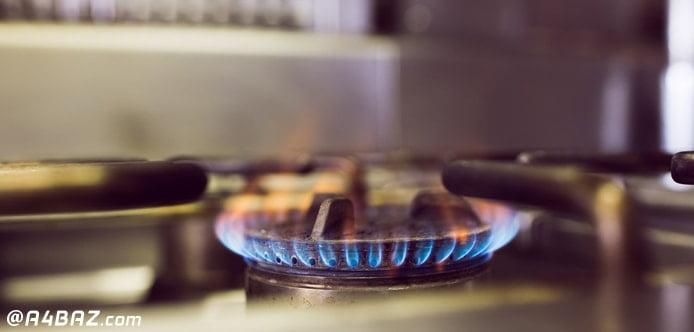 تنظیم شعله اجاق گاز رومیزی