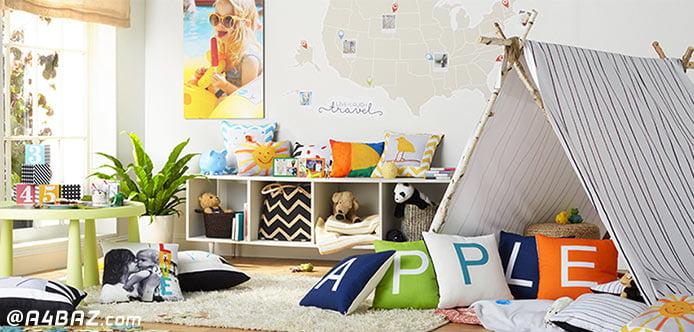 مرتب کردن اتاق خواب کودک