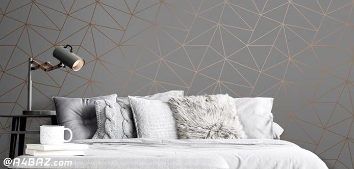 کاغذ دیواری اتاق خواب جوان