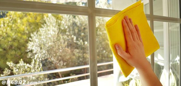 نکات مهم تمیز کردن شیشه و پنجره