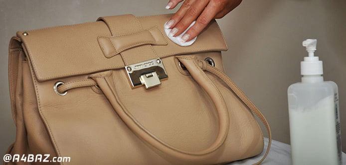 چگونه کیف چرم را براق کنیم؟