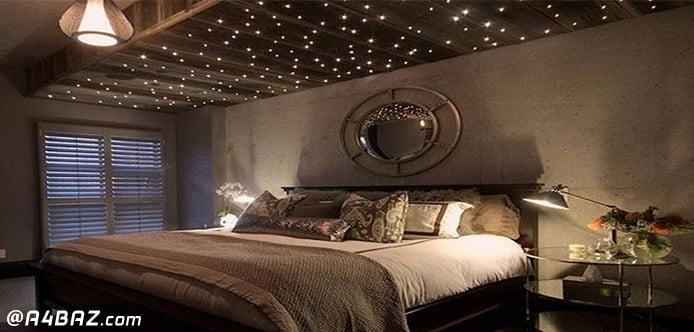 نورپردازی اتاق خواب عروس وداماد