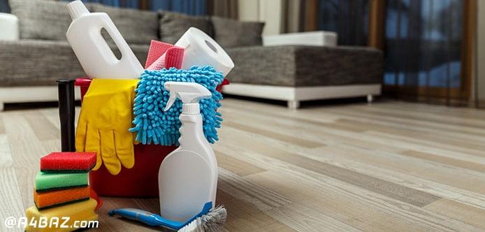 اصول نظافت منزل