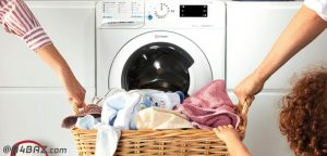 راهنمای کار با ماشین لباسشویی