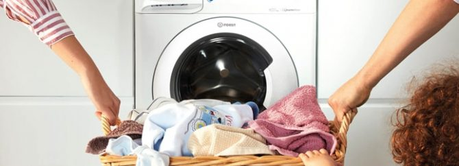 چطور با ماشین لباسشویی ایندزیت (Indesit) کار کنیم؟