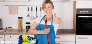 ترفندهای نظافت آشپزخانه