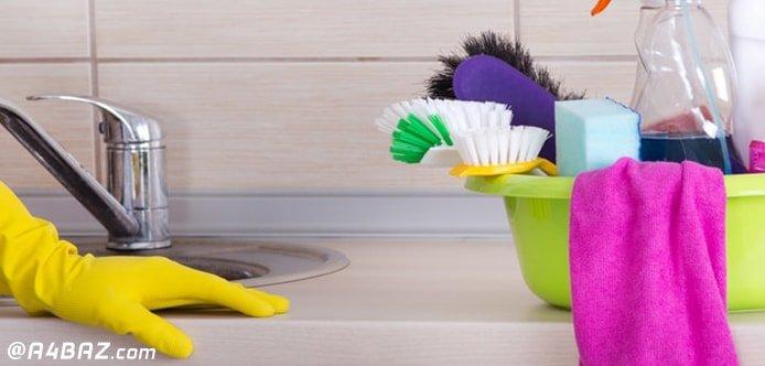 بهترین ترفندهای نظافت آشپزخانه