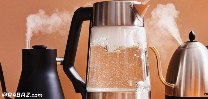 رفع چربی روی چایی در چای ساز