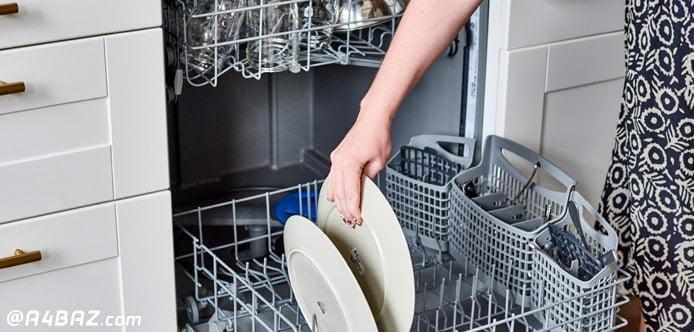 تمیز کردن روزانه ماشین ظرفشویی