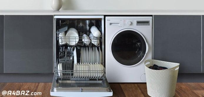 تمیز کردن ماشین ظرفشویی با جوش شیرین