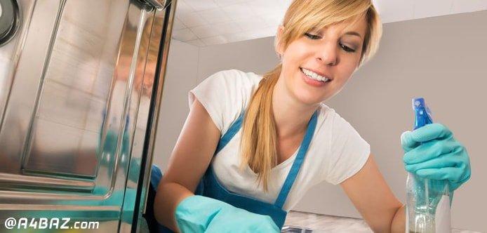 تمیز کردن ماشین ظرفشویی سامسونگ