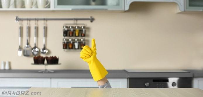 ترفند تمیز نگهداشتن خانه