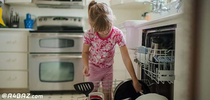 مقدار مصرف ژل ماشین ظرفشویی