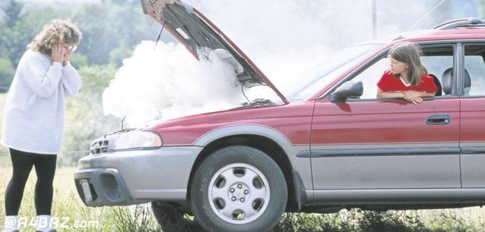 خرابی سنسور دمای آب خودرو