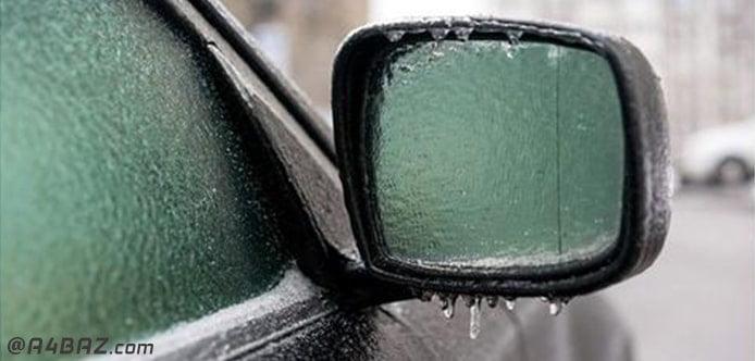 تعویض آینه بغل خودرو