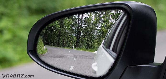 انواع آینه بغل خودرو