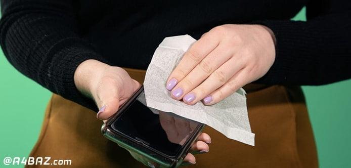 ضدعفونی گوشی موبایل
