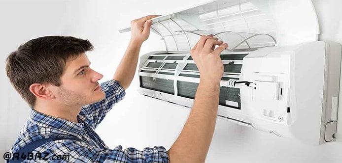 اسپری تمیز کننده فیلتر کولر گازی