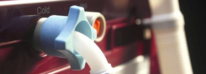 بررسی علل خرابی شیربرقی ماشین لباسشویی ال جی