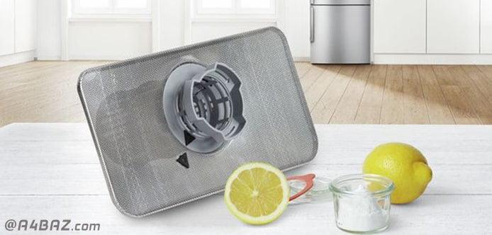 مراحل تمیز کردن فیلتر ماشین ظرفشویی ال جی
