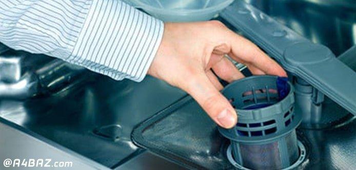 تمیز کردن فیلتر ماشین ظرفشویی سامسونگ