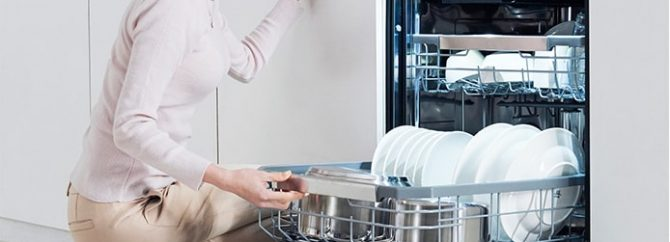 دلایل خرابی موتور ماشین ظرفشویی