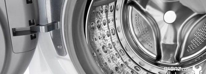 بررسی علت های نچرخیدن ماشین لباسشویی ال جی