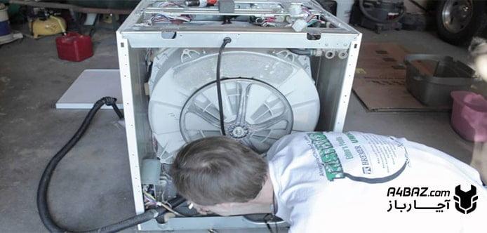 علت صدای جیر جیر ماشین لباسشویی بوش