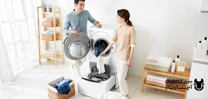 خرابی ماشین لباسشویی ال جی