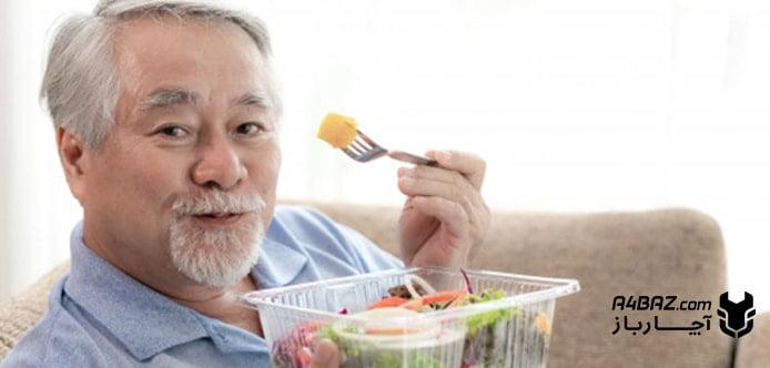 مواد غذایی مفید سالمندان